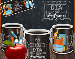 Caneca Feliz dia do Professores