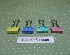 Clips de costura ou papel