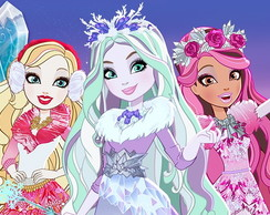 Painel Festa Ever After High (EAH02)