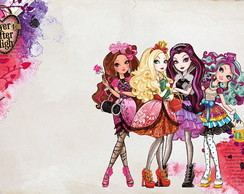 Painel Festa Ever After High (EAH04)