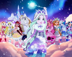 Painel Festa Ever After High (EAH05)