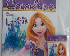 Kit de colorir Rapunzel