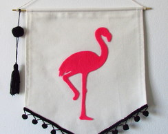 Flag Flamingo