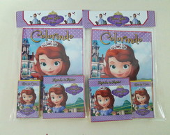 Kit de colorir princesinha Sophia