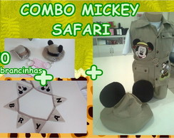COMBO Mickey Safari