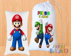 Kit Super Mario Bros 15x25cm Fofas