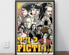 "pôster ""pulp fiction"""