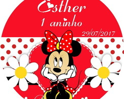Tags para Topper Minnie