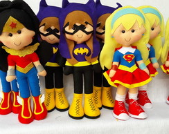 centro de mesa super hero girls