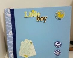 Mini álbum Scrapbook baby boy