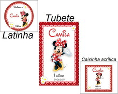 KIT 40 adesivos da minnie
