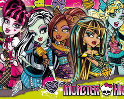 Painel Lona Monster High (MH02)