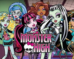 Painel Lona Monster High (MH05)