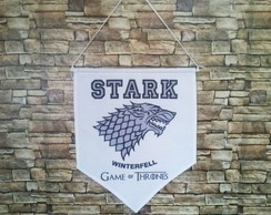 Flâmula House Stark Game of Thrones