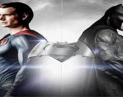 PAINEL SUPERMAN VS BATMAN (3) 200x100 CM