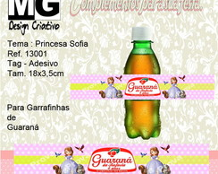 Ref.13001-Tag p/Guaraná Princesa Sofia
