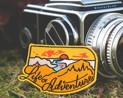 Life of Adventure Patch Termocolante