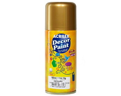 Tinta em Spray Decor Paint - 0532 Ouro