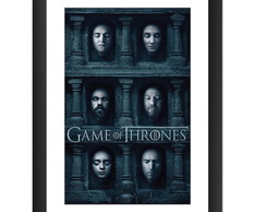 Quadro Game of Thrones Serie Seriado GOT