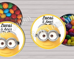 Latinha mint to be personalizada Minions