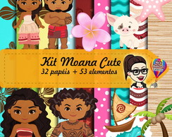 Kit Digital | Moana Cute