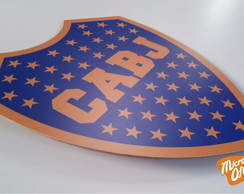 Quadro Decor Placa Boca Juniors MDF 3mm