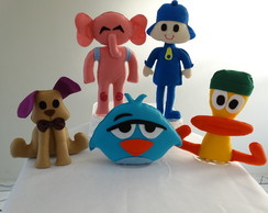 Kit Bonecos do pocoyo