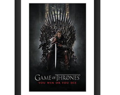 Quadro Game of Thrones Serie Stark 45x60
