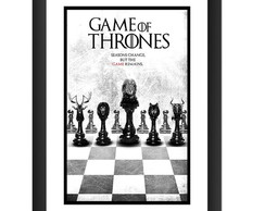 Quadro Game of Thrones Seriado 45x60 cm