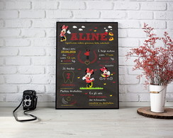 Chalkboard Digital Minnie