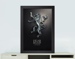 Quadro Game of thrones Lannisters