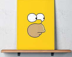 Quadro Decorativo 30x40 Homer Simpson