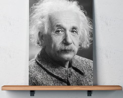 Quadro Decorativo 30x40 Albert Einstein