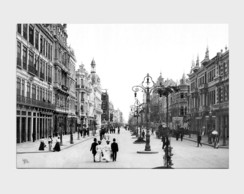 Painel Avenida Central - Ano 1905