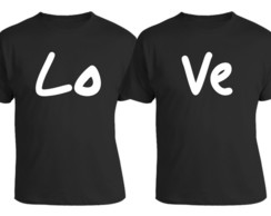 Kit Camiseta Divertida Casal Love
