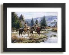 Quadro Indio Americano Arte Decor F50