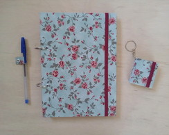 Caderno Argolado 90g + Chaveiro Post It