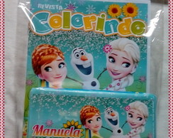 Revista e Estojo P Frozen Fever