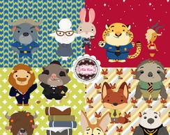 Kit Digital Animais 45