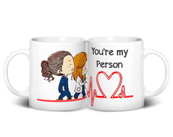 Caneca Grey's Anatomy | You're My Person