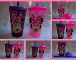 Copo Shake de 500ml Minnie Rosa