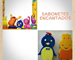Esponja Backyardigans com tag