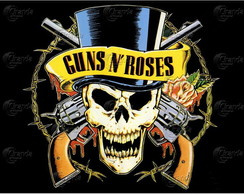 Placa Decorativa Guns N' Roses