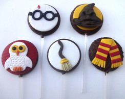 Pirulito de chocolate Harry Potter