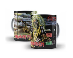 Caneca Iron Maiden Killers Rock Metal