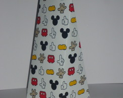 Cone Triangular estampa Mickey