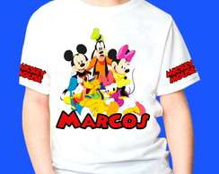 Camiseta Personalizada turma do Mickey 1