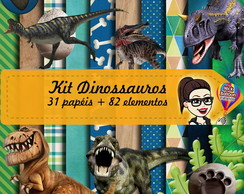 Kit Digital | Dinossauros