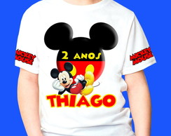Camiseta Personalizada do Mickey 2