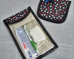 Kit Porta Escova + Porta Absorvente
